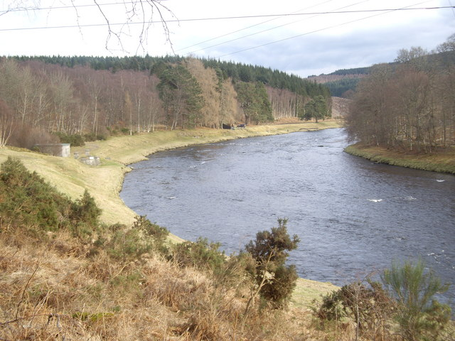 Looking downstream River Dee