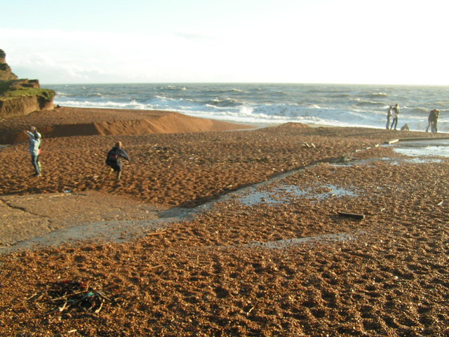The beach at Seatown