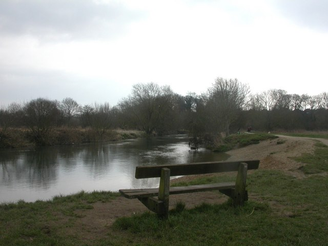 Stour Valley Nature Reserve, bench