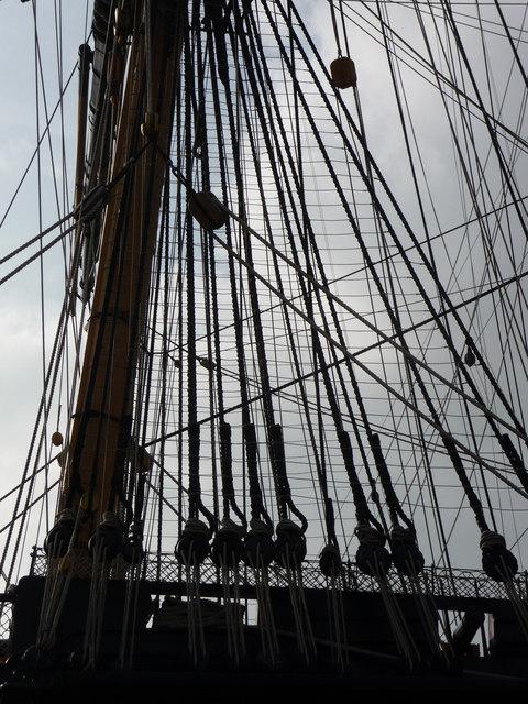 HMS Victory, rigging
