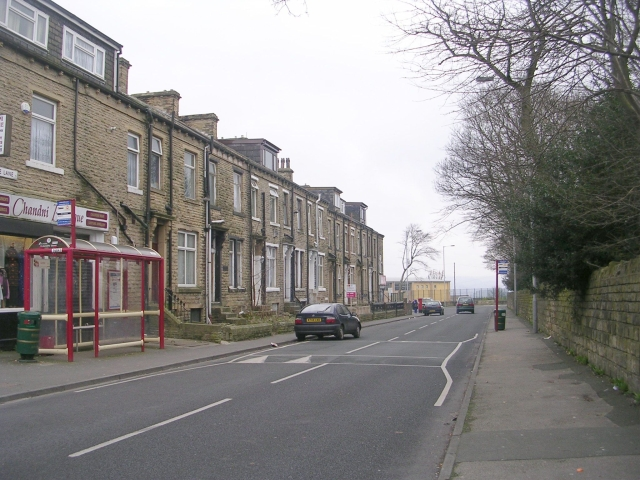 Undercliffe Lane - viewed from Undercliffe Street
