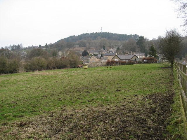 Footpath view towards Bolehill