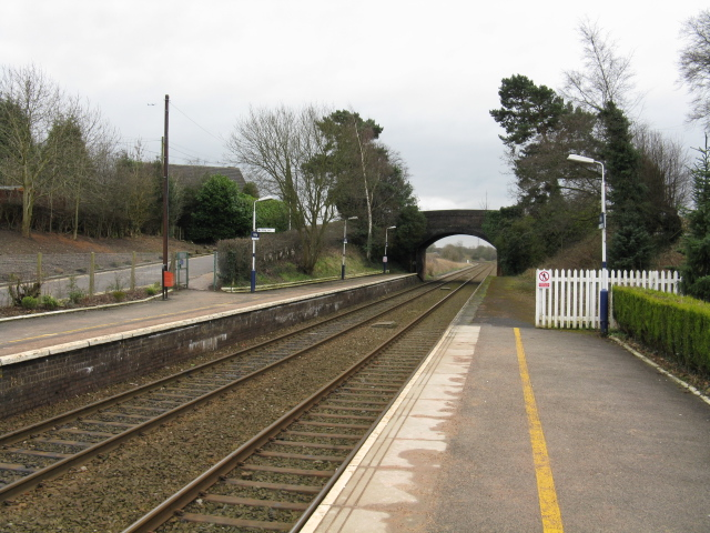 Looking South From Ashley Station