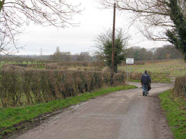 Toward Ryecroft Farm