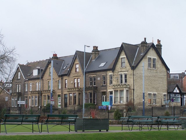'Big' Houses on Middlewood Road, Hillsborough, Sheffield