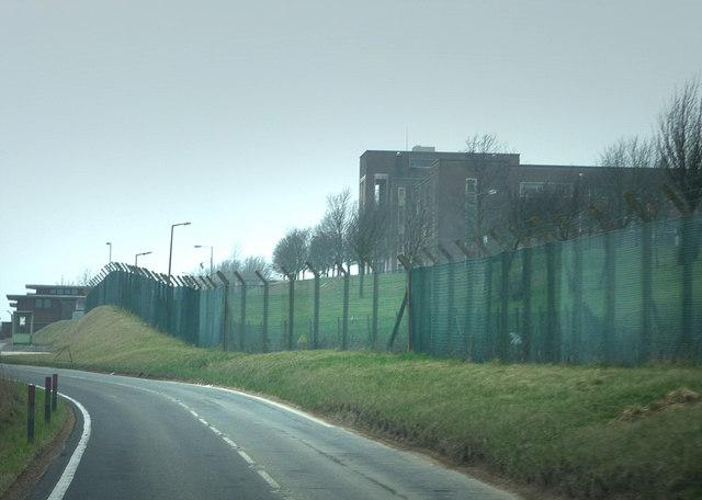 Ex M.O.D. buildings on Portsdown