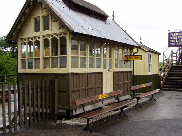 Embsay Station Waiting Room