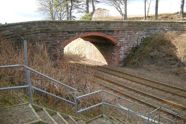 Railway Bridge south of Lunan Lodge