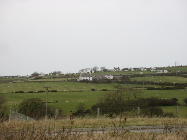 Glwybycoed Farm from the Cochwillan road