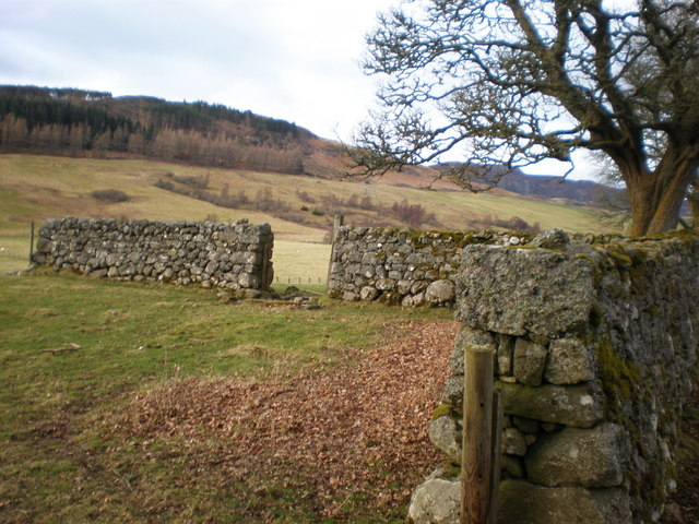Walls near Leadclune