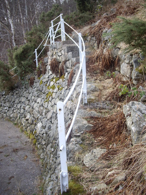Steps up from water intake station