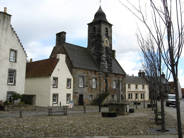 The Town House and Tron, Culross