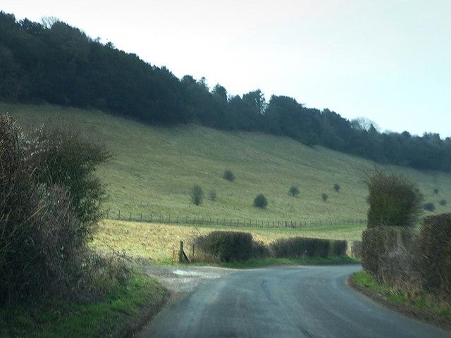 Lane under Dean Hill