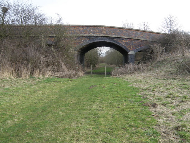 Former Track Bed and Railway Bridge