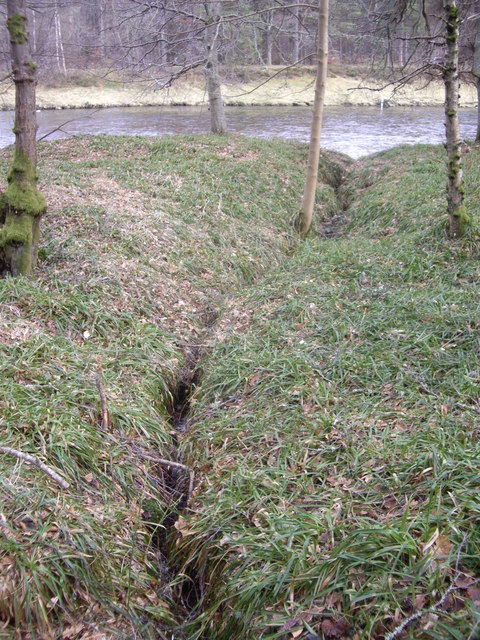 Drainage from Hill of Trustach