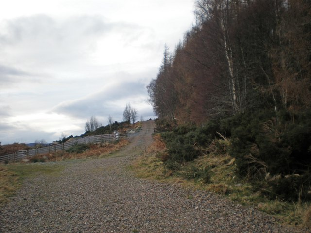 Old Road to Oldtown and Loch a' Bhodaich