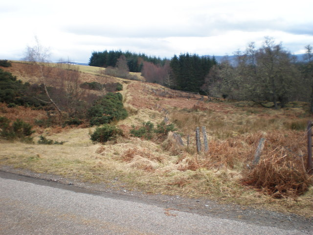 Footpath to Loch an Ordain above Errogie