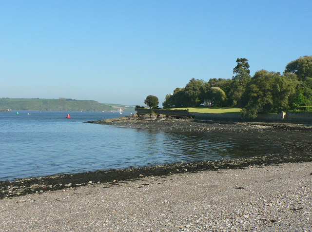 The foreshore at Cremyll.