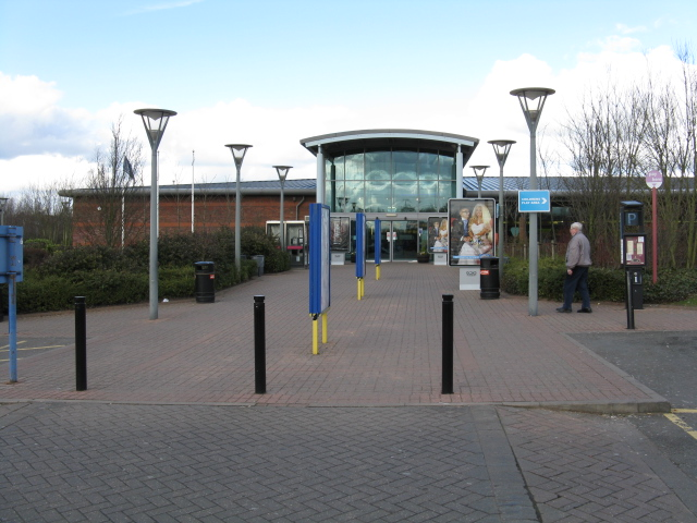 Main Building, Stafford Services - M6 Southbound