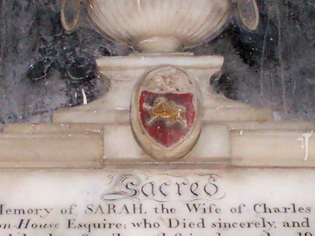 Amroth Church - Memorial - detail