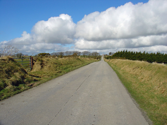 Enclosure road, Bryn Iwan, Cynwyl Elfed
