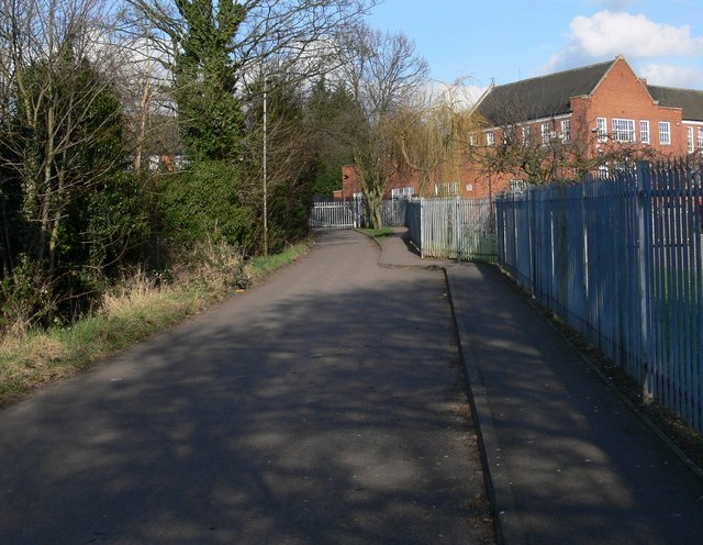 Footpath next to Sir Jonathan North Community College