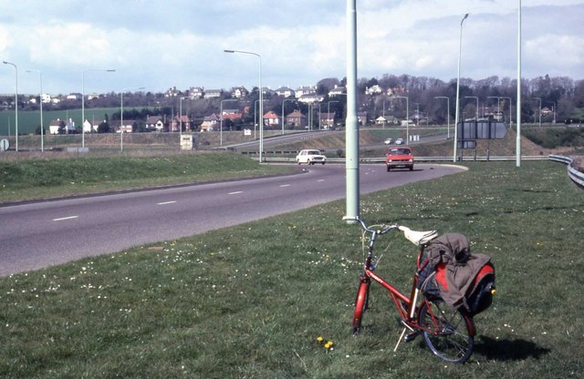 Looking towards Portsdown Hill
