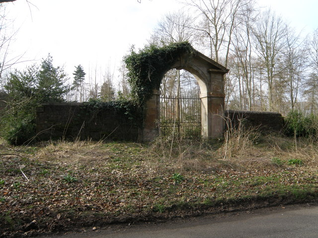 Former Grand Entrance