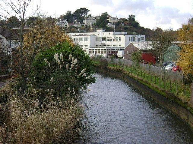Templer Way crosses the River Lemon