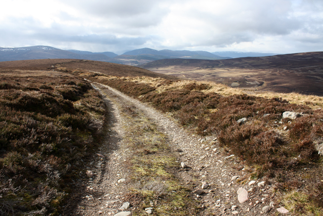 Track on Tom an t-Suidhe Mhoir