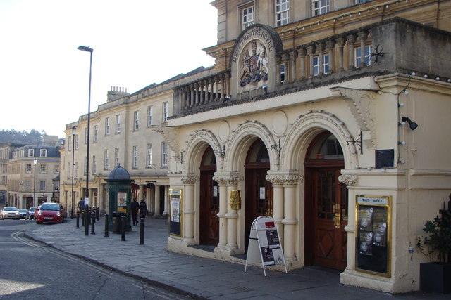 Entrance to the Theatre Royal, Bath