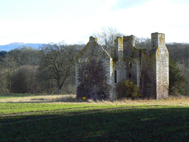 Shell of a castle