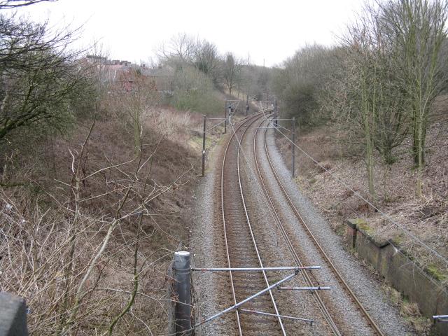 Metrolink Route at Smedley Lane