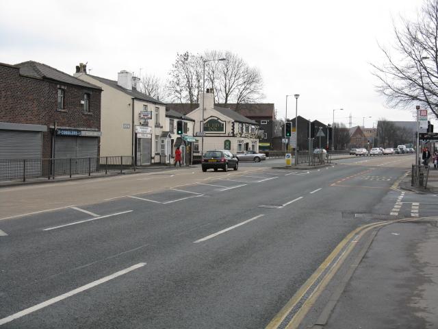 Bury New Road, Looking South