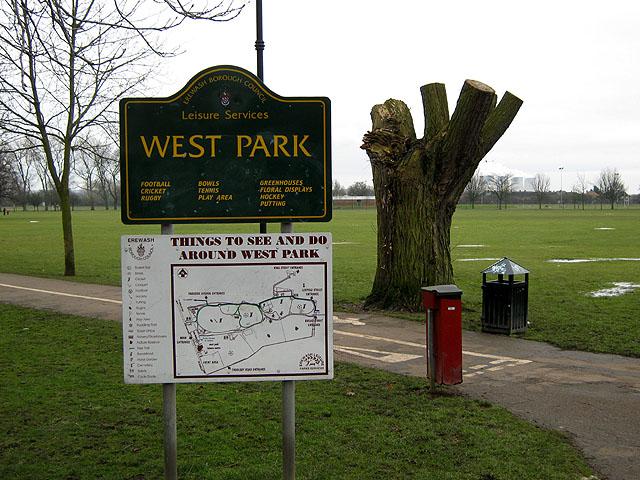 West Park Entrance Signs