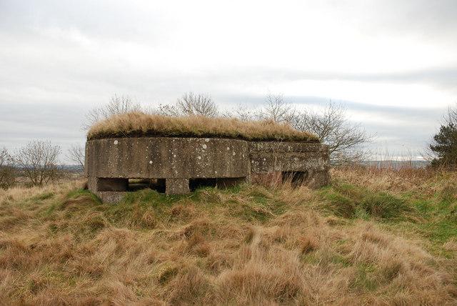 WW2 Pillbox at RAF Ouston