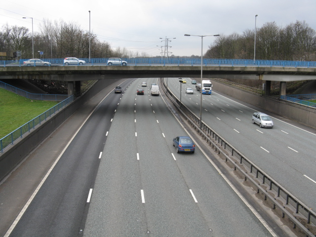 M60 At Junction 17