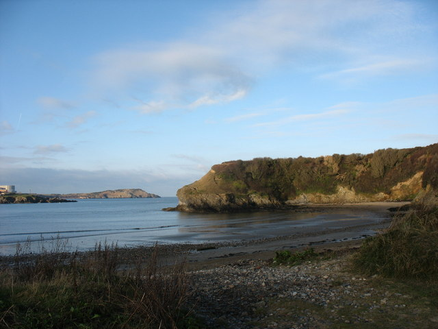 The north-eastern corner of Traeth Mawr