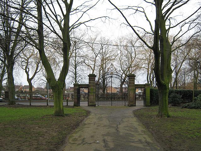West Park Main Gates