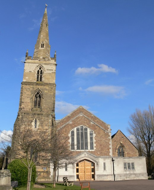 The Parish Church of St. Mary Magdalene, Knighton