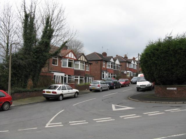 Semi-Detached Houses on Church Drive, Prestwich