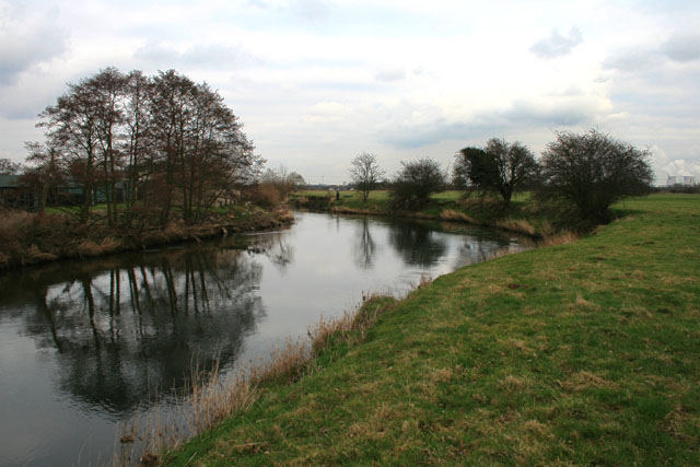 The River Derwent Between Church and Great Wilne