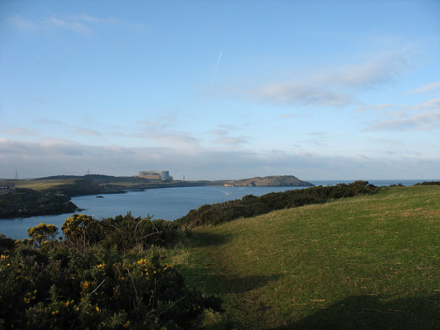 The cliff top at Trwyn y Parc