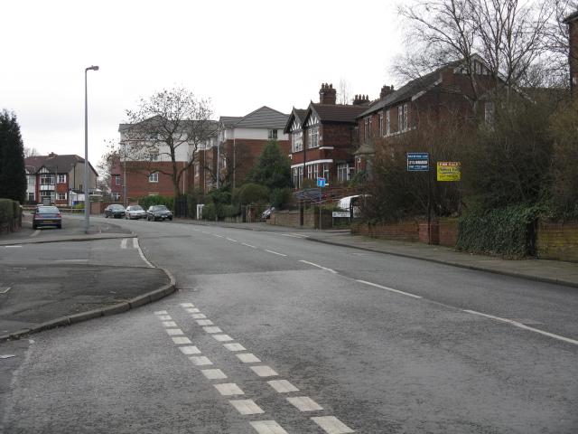 Kersal - Moor Lane, Looking East