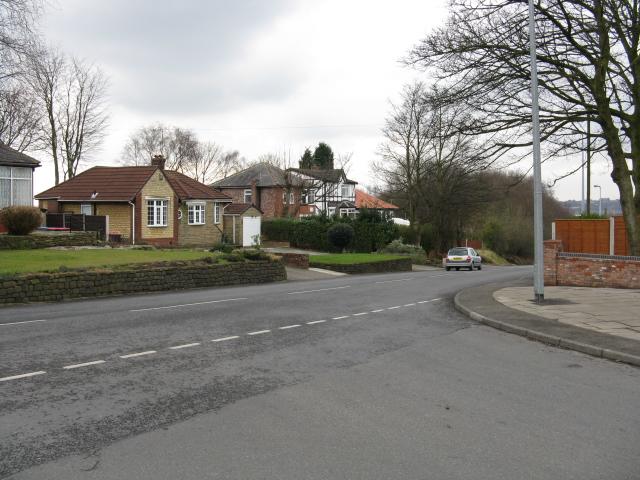 Kersal - Houses on Moor Lane