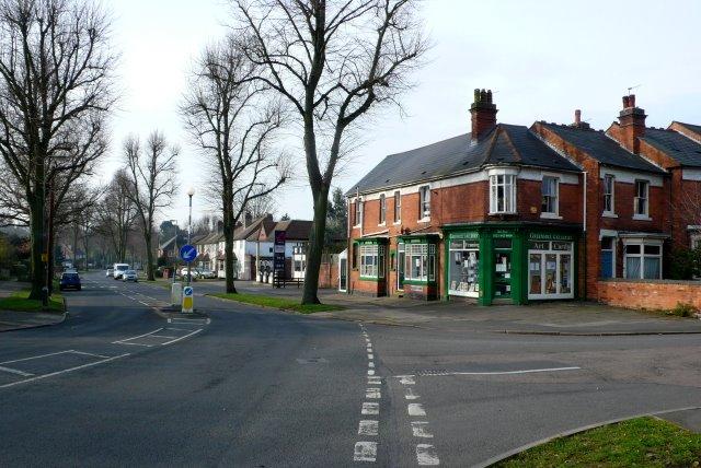 Corner of Billesley Lane and Greenhill Rd