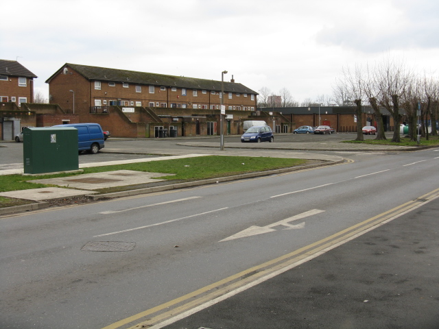 Lower Broughton - Housing Estate Off Great Clowes Street
