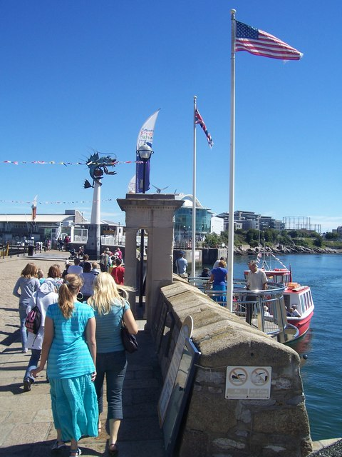 Plymouth : Mayflower Steps