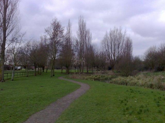 Riverside Walk, Buckingham (part)