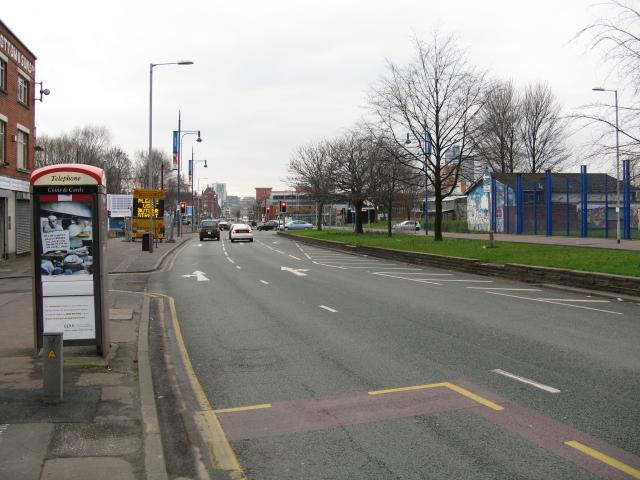 Butler Street Junction, Oldham Road, Manchester